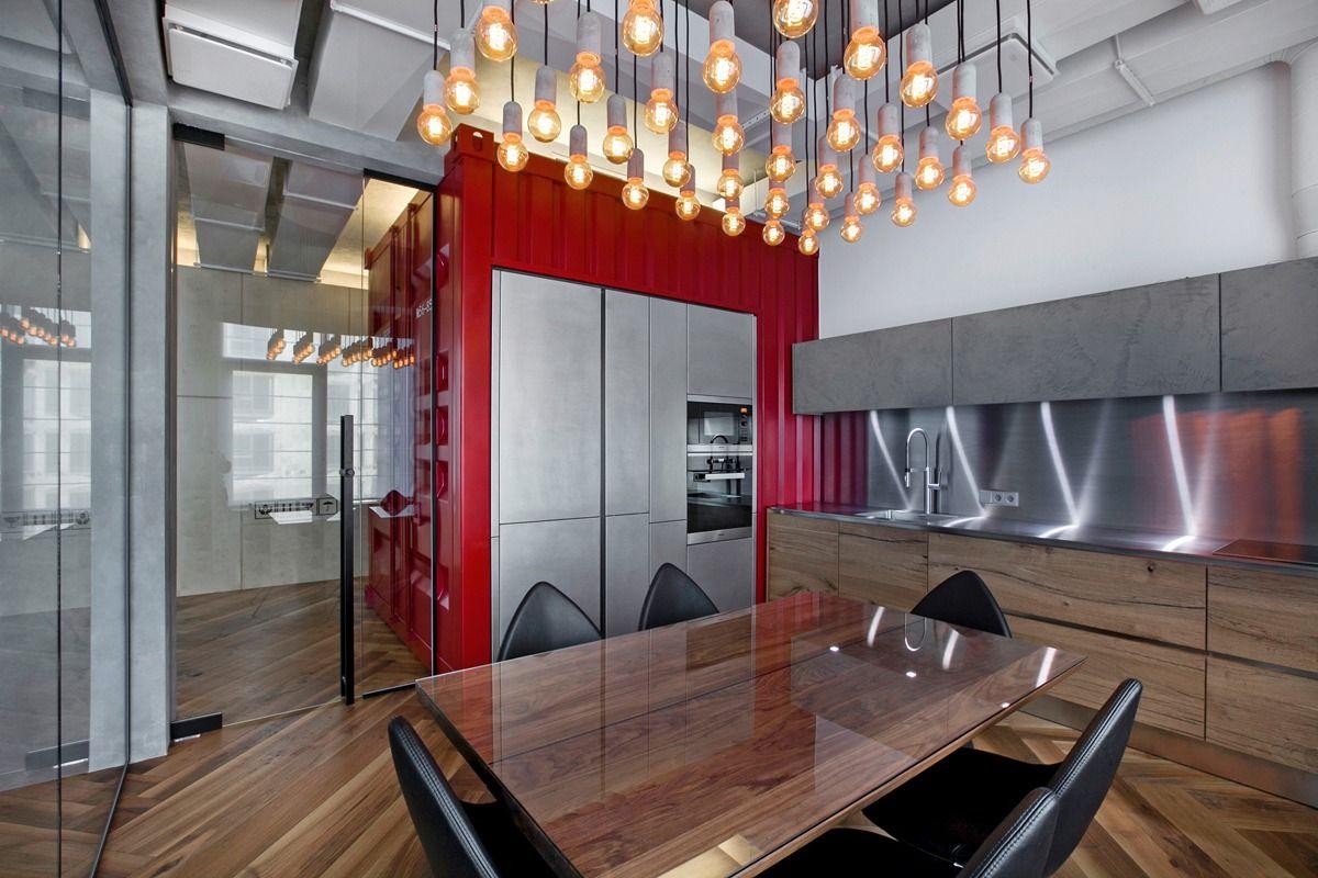 Modern industrial dining room ideas
