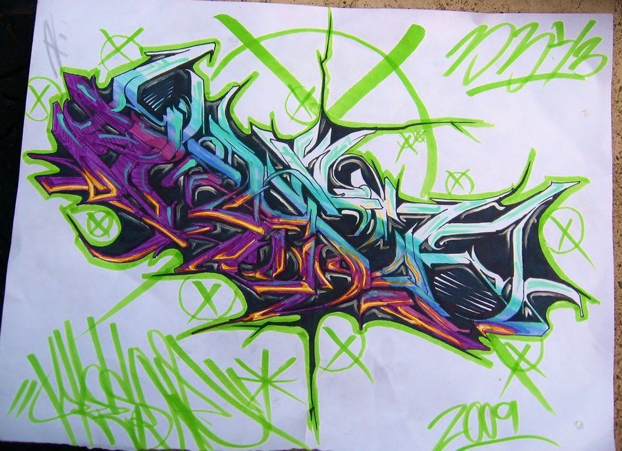 Ewok Msk Awr Hm The Seventh Letter Sketched By Rime And Pose