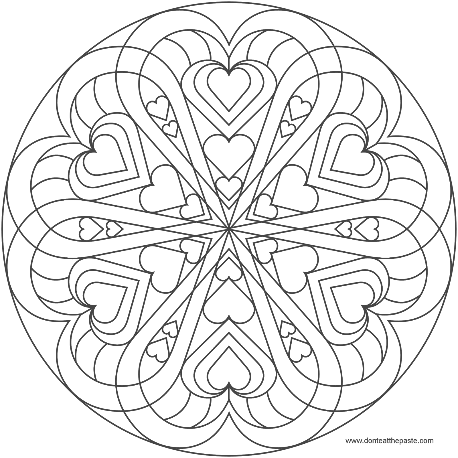 image result for mandala heart hearts mandala coloring pages valentines day coloring page. Black Bedroom Furniture Sets. Home Design Ideas