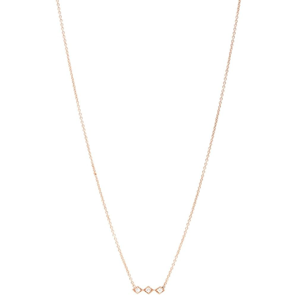 Zoe Chicco 14k 3 Diamond Bar Necklace