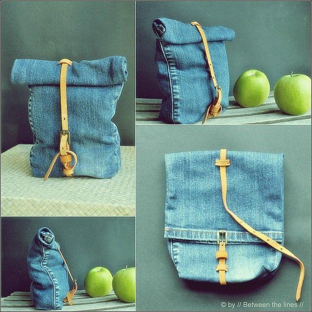 25 verschiedene Möglichkeiten, Ihre alten Blue Jeans zu recyceln #vieuxjeans