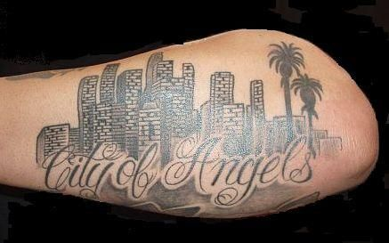 Pin By Kenneth Davila Imbd Com Wiki On Bee U T Skyline Tattoo Small Face Tattoos Tattoos