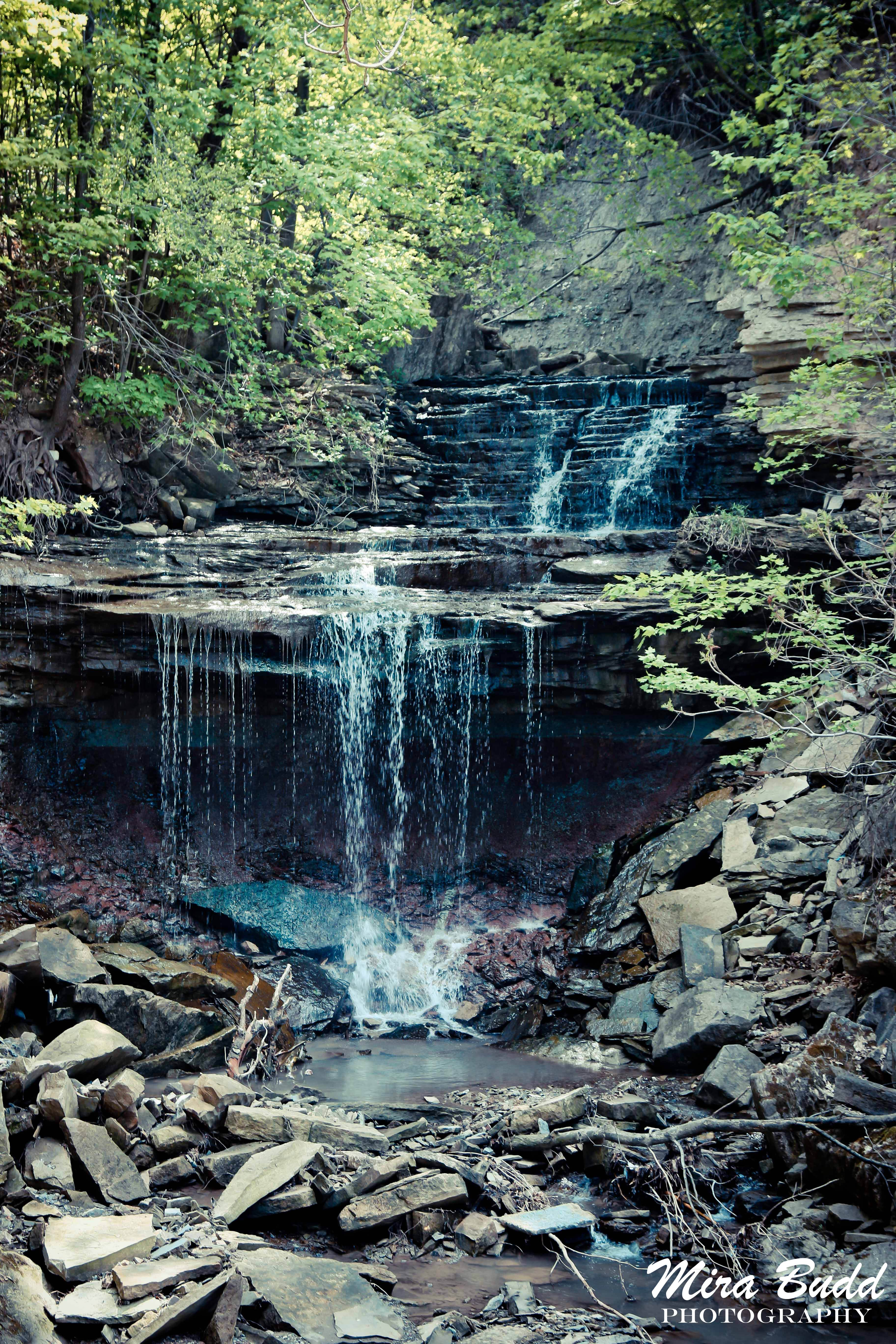 Albion Falls And Lower Westcliffe Falls Waterfalls Hamilton Ontario