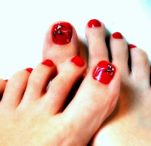 Nail Art Designs Feet