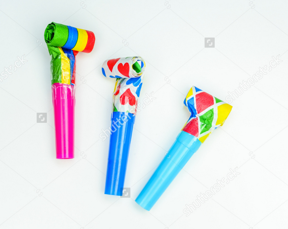 Party Blower Www Shutterstock Com Pt Image Photo Multicolor Party Blowers On White Background 585715724 Src