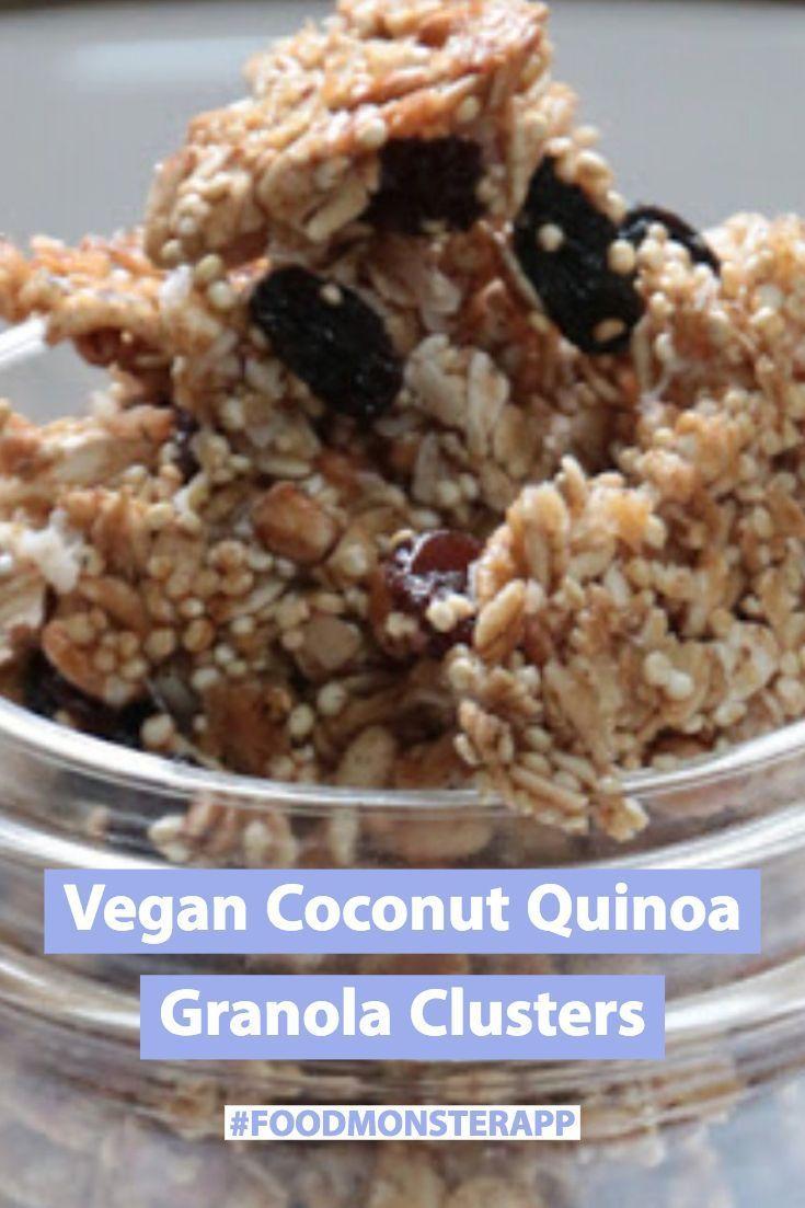 Coconut Quinoa Granola Clusters Vegan In 2019 Eat
