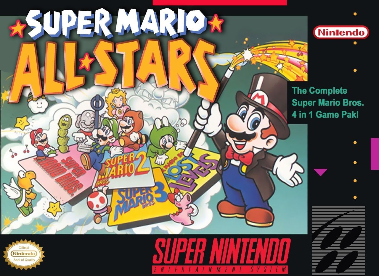 Super Mario All Stars For Snes Cartridge Only Super Mario All Stars Mario All Stars Super Nintendo