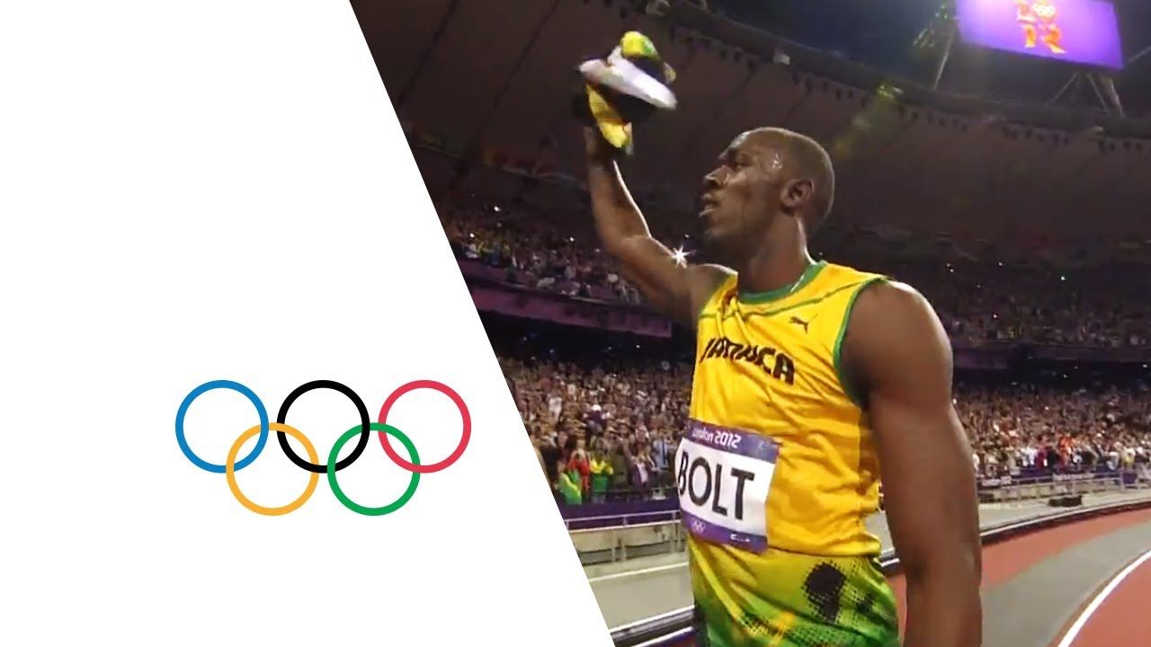 Usain Bolt Wins Olympic 100m Gold - London 2012 Olympics ...