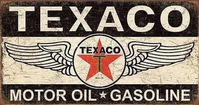 """round ~12/"""" Streamline Hi-Speed Oil gasoline sign .."""