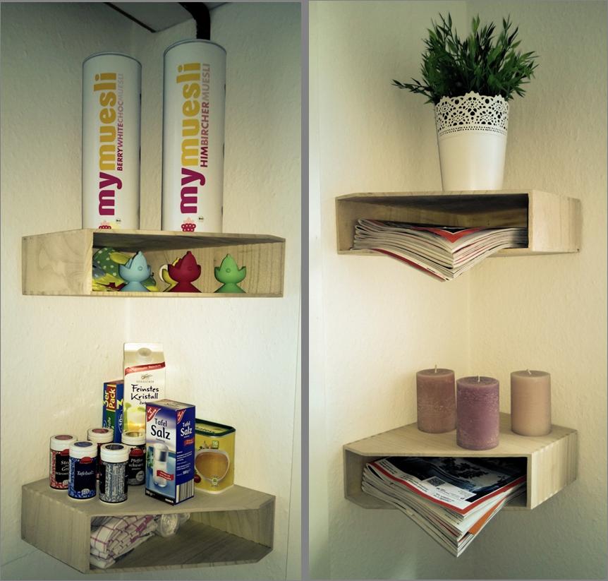 Perfekte Regale Für Kleine Winkel Und Ecken, Egal Ob In Der Küche Oder Im  Wohnzimmer