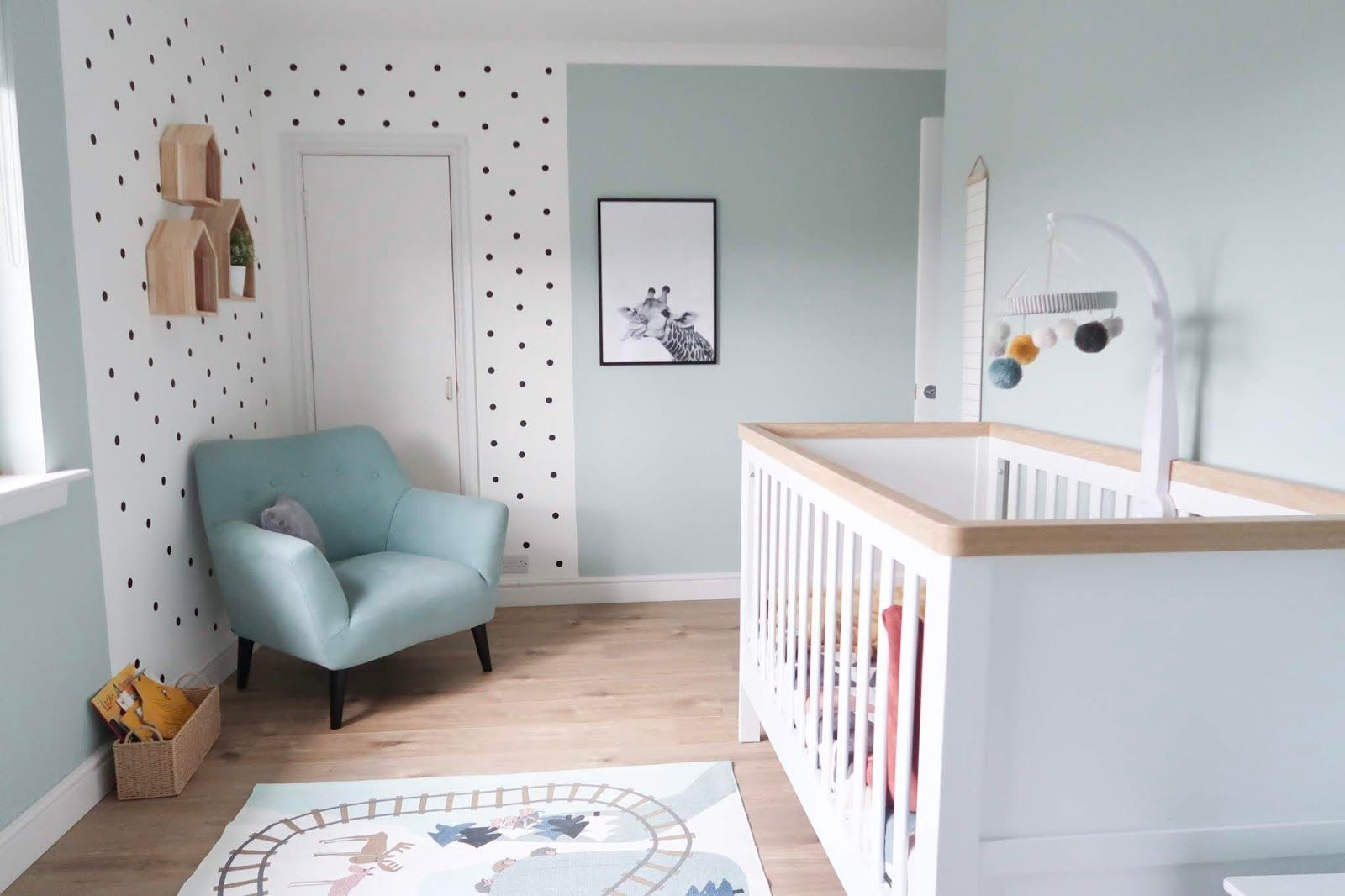 Shared Baby & Toddler Bedroom