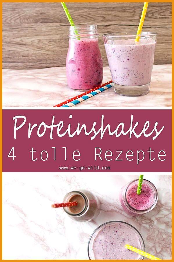 Abnehmshakes selber machen: 4 leckere Diätshakes #Abnehmshakes #Diätshakes #Fitness food fast #Fitne...