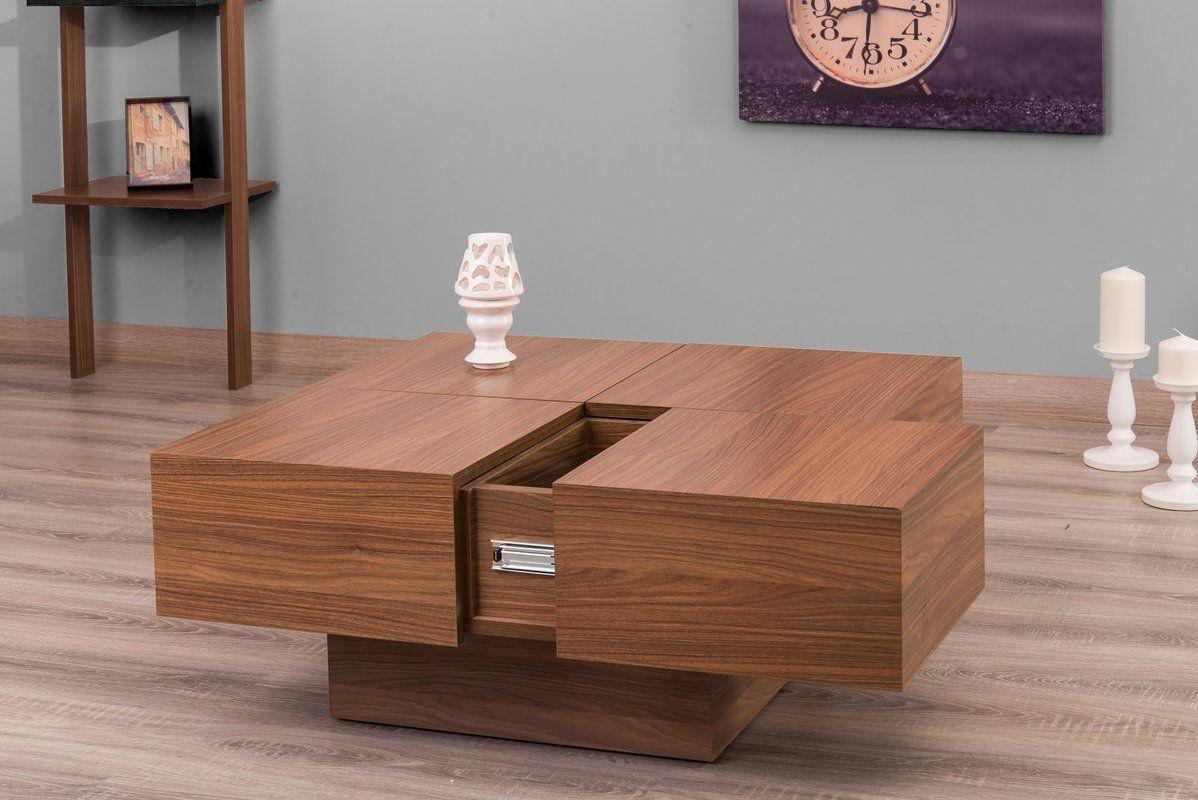 Reyer Coffee Table Modern Coffee Tables Coffee Table Walnut Coffee Table [ 800 x 1198 Pixel ]