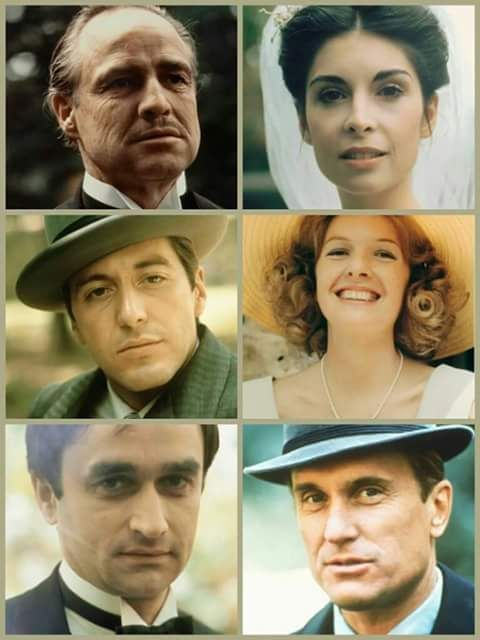 Image result for godfather diane keaton and robert duvall
