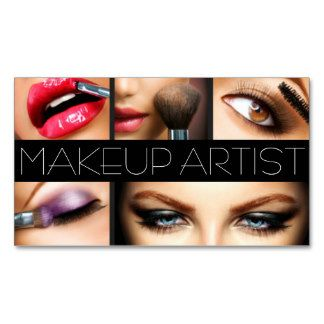 Httprlvzcache shop makeup artist cosmetologist nails beauty salon business card created by artisticeye reheart Image collections