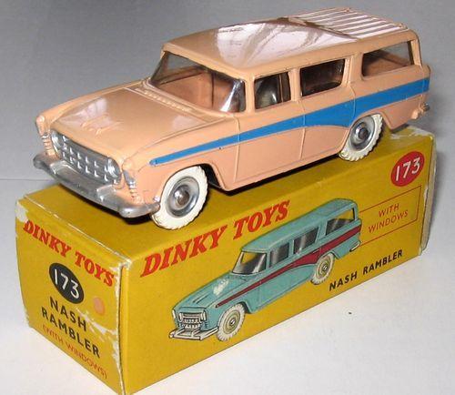 dinky toys 173 nash rambler rare ebay motorious pinterest miniature. Black Bedroom Furniture Sets. Home Design Ideas