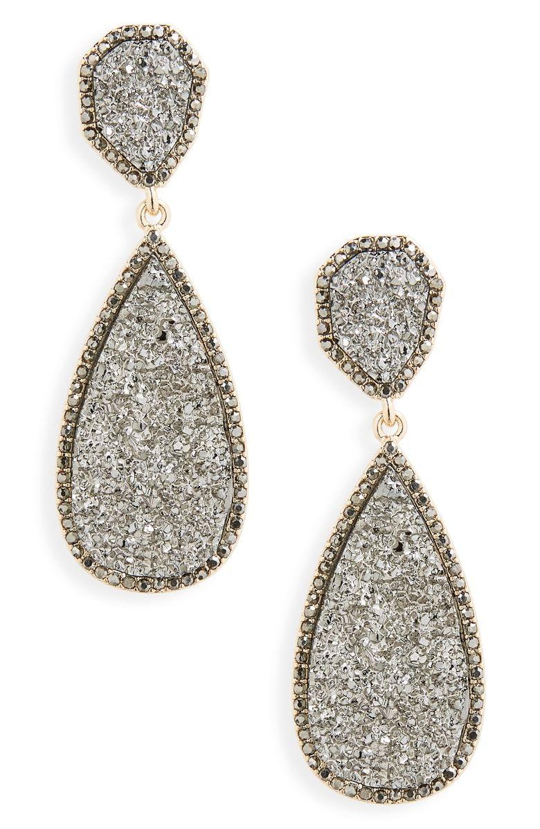 c9da8503b Moonlight Drop Earrings, Main, color, Medium Grey | Gifts | Earrings ...