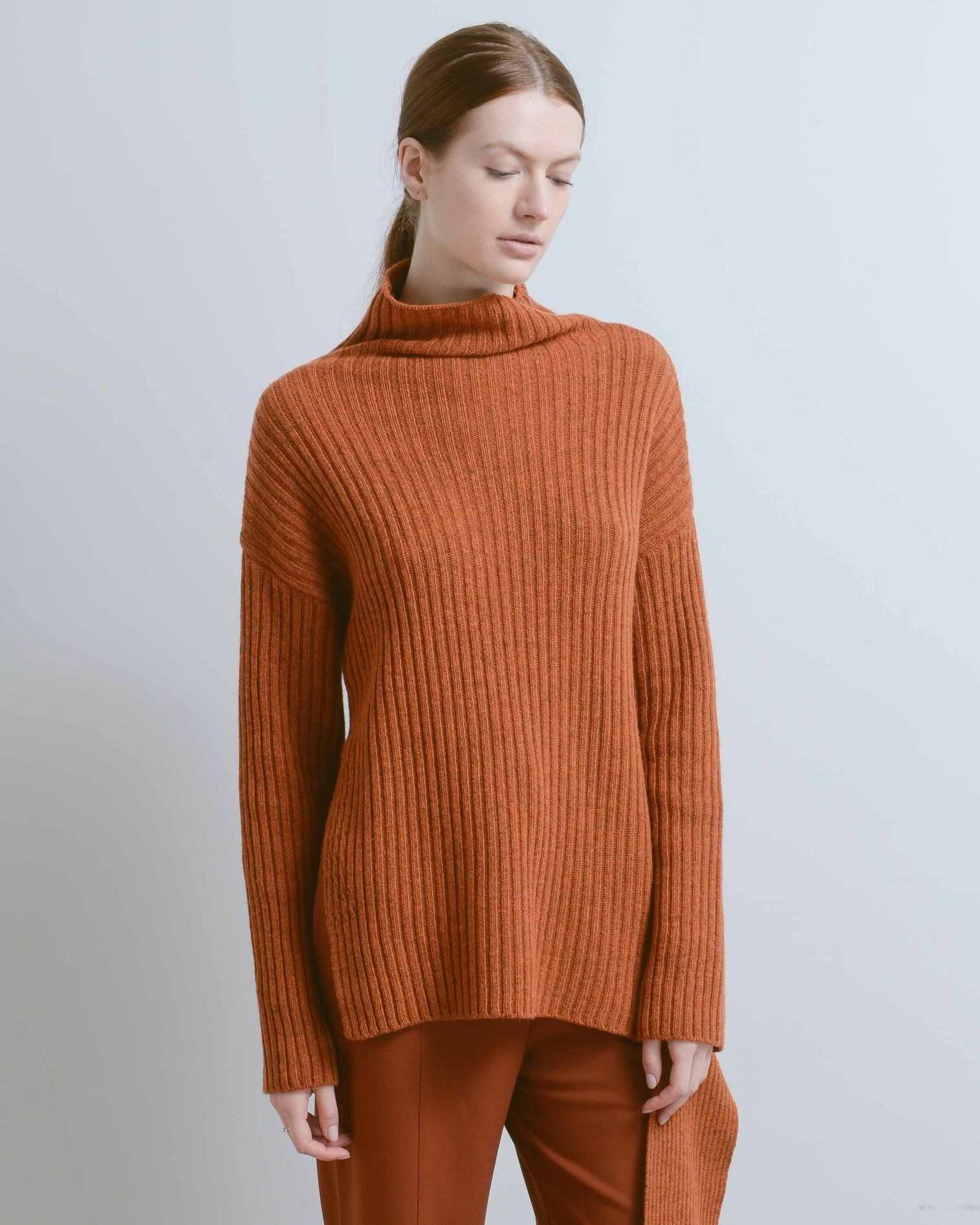 5c34f02f0 Mijeong Park Ribbed Side Tie Pullover