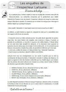 Enquête De L Inspecteur Lafouine : enquête, inspecteur, lafouine, Inspecteur, Lafouine, Lafouine,, Lecture