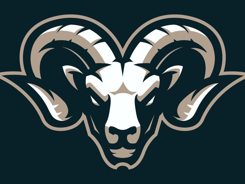Ram Mascot logo for Sale   Animal logo, Cool logo, Sports logo