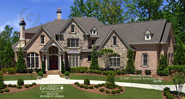 Garrell associates inc lansdale manor house plan 04193 for European manor house plans