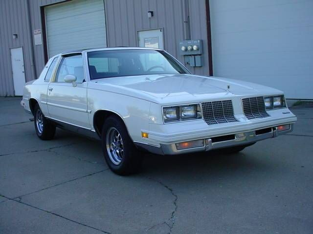 1985 Oldsmobile Cutlass Supreme V8 T Tops Bucket Seats Cutlass 442 Pinterest
