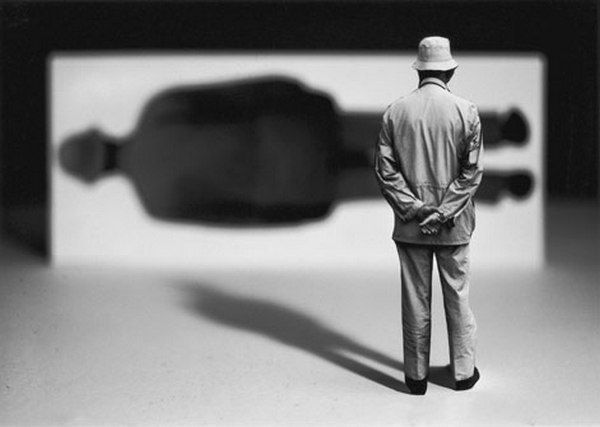 La sombra. Gilbert Garcin
