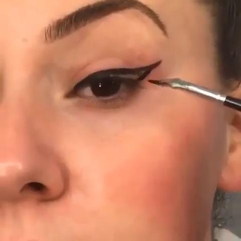 Photo of Eyeliner Goals😍😍😍😍#eyelashes #eyeliner #makeup