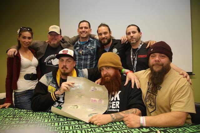 2015 High Times Veterans Panel