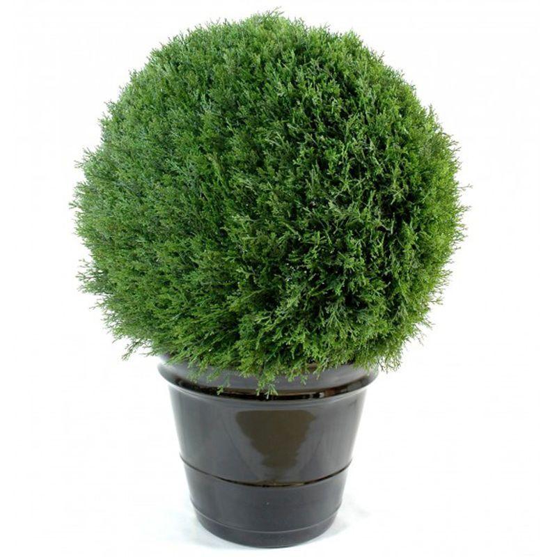 Plante artificielle haute gamme Spécial extérieur / Cyprès ...