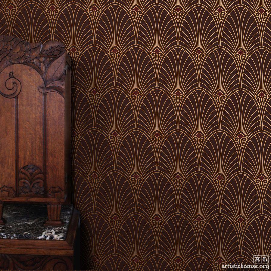Stephen Bauer Bradbury Bradbury Art Wallpapers Art Deco Wallpaper Uk Art Deco Wallpaper Wallpaper