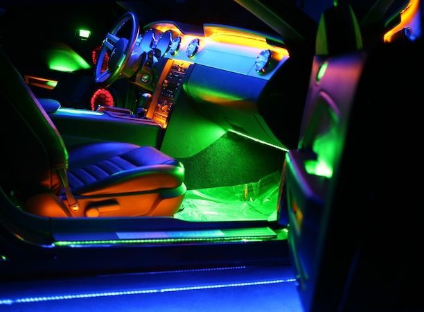 This Looks Cool Car Interior Lighting Kit Interior Lighting Accessories Pinterest