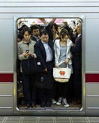 Nice and Convenient Storage Room (yushimoto_02 [christian]) Tags: urban station japan train subway tokyo robot metro crowd transport storage full   rushhour crowded tokio  tky