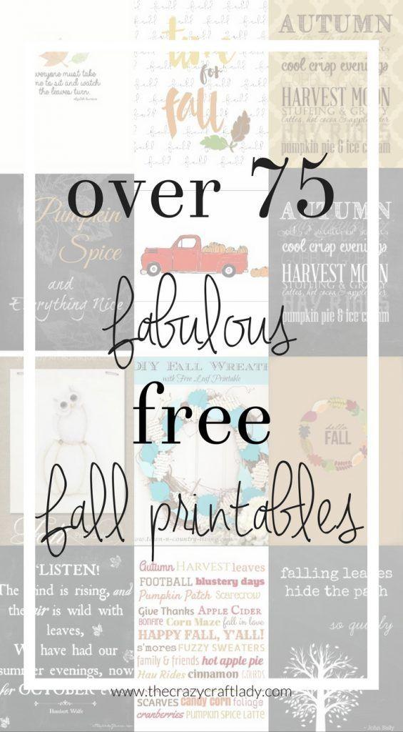 Over 75 Fabulous Free Fall Printables Printable Art Gift Tags