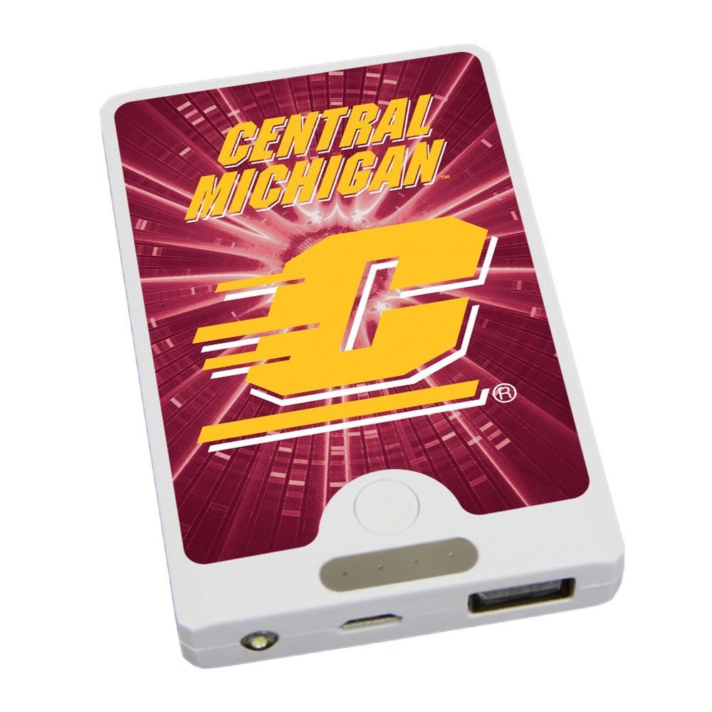 Central Michigan Chippewas APU 4000LX USB Mobile Charger