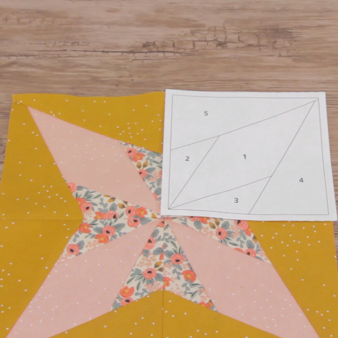 The technique of paper piecing (sometimes called foundation paper piecing) uses a drawn or printed pattern as a base to stitch on directly, and can help you achieve complicated patchwork with perfect piecing. In this post we'll share tips for getting started with this technique and a list of free patterns and tutorials to help build your paper piecing skills. #patchwork #quilting #piecing #technique #tutorial