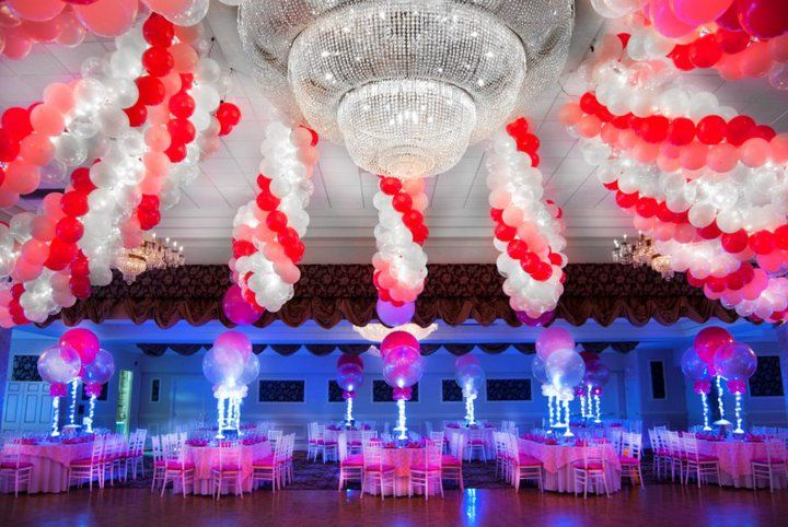 15 ideas for balloon decorations led ballons by balloon artistry mazelmomentscom - Decorations