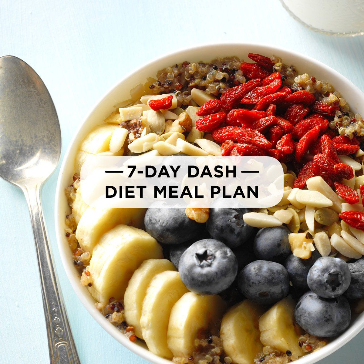 7-Day DASH Diet Meal Plan images