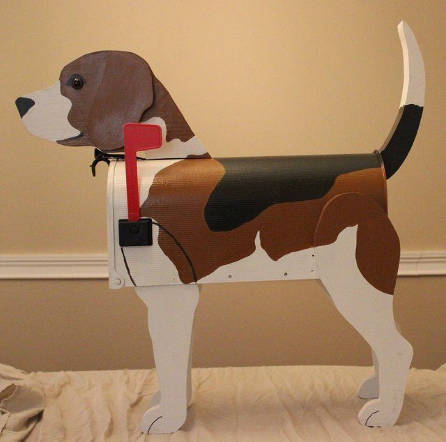 Fancy Beagle Dog Lover Mailbox Beagle Dog Beagle Dog Lovers
