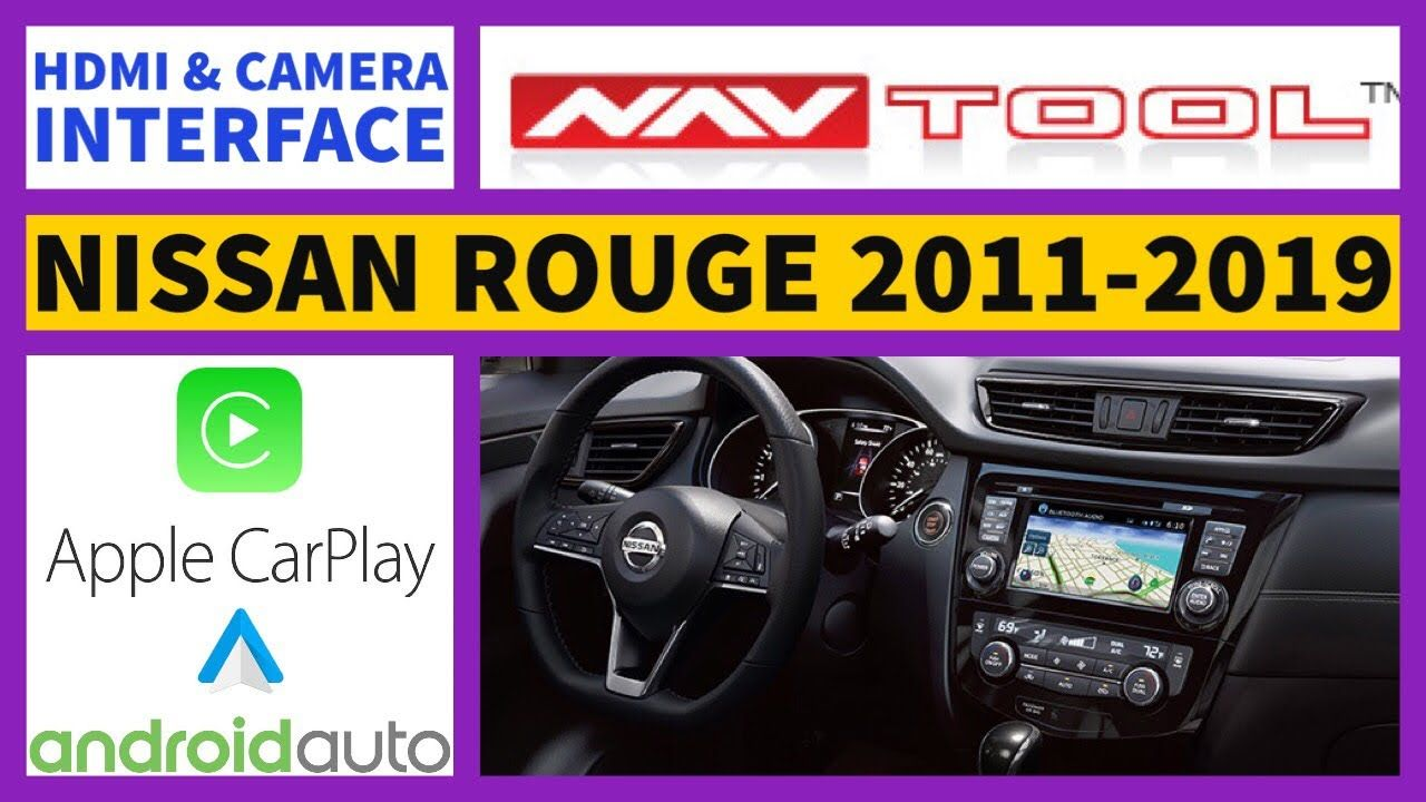 Nissan Rogue Apple Carplay, 20112019 Nissan Rouge Apple