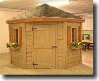 northsheds backyard sheds 7x7 corner shed - Corner Garden Sheds 7x7