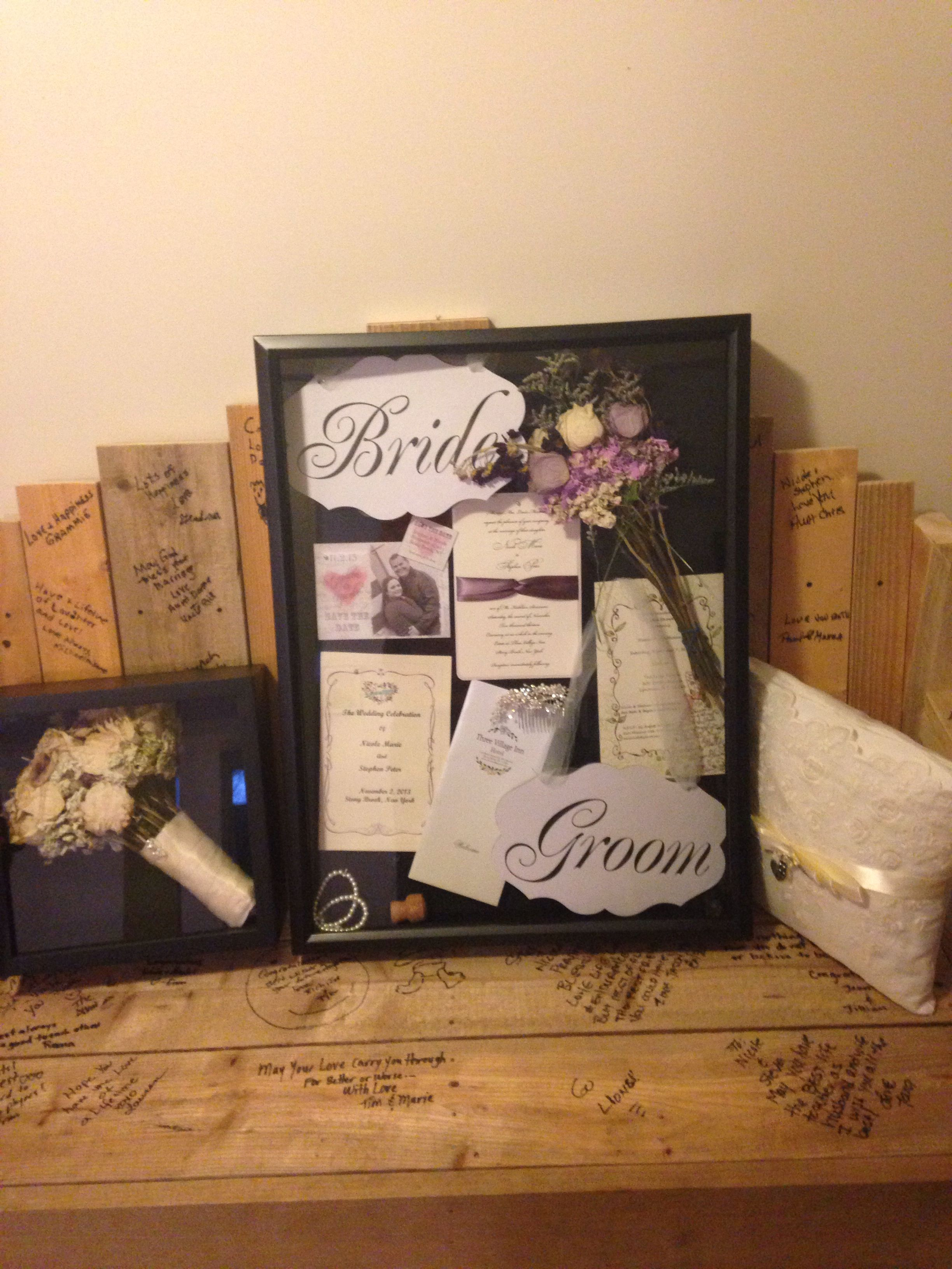 Wedding shadow boxes