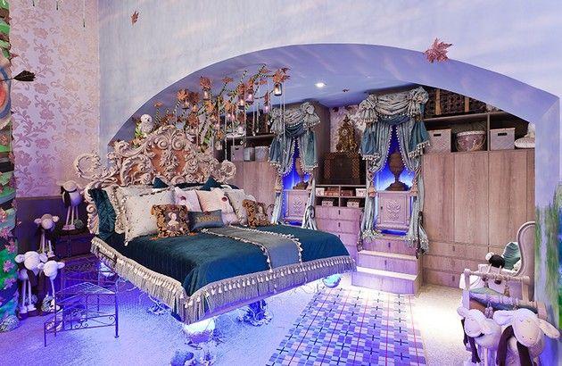 Princess bedroom inspired by walt disney movie brave for Disney themed bedroom ideas