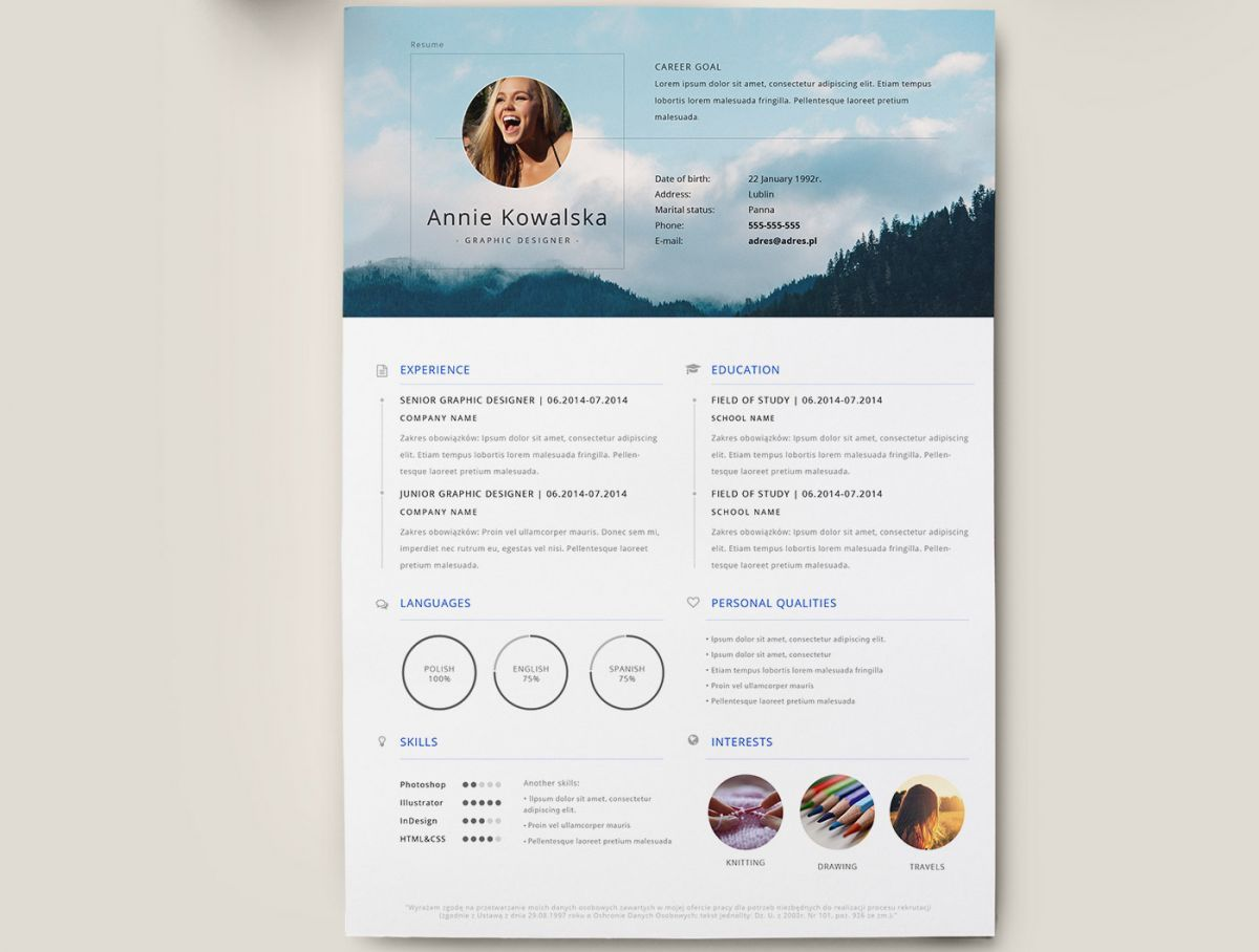 17 free resume templates - Resume template free, Clean resume template, Resume templates, Creative resume template free, Best free resume templates, Best resume template - These free resume templates offer a great starting point to help sell your creative skills