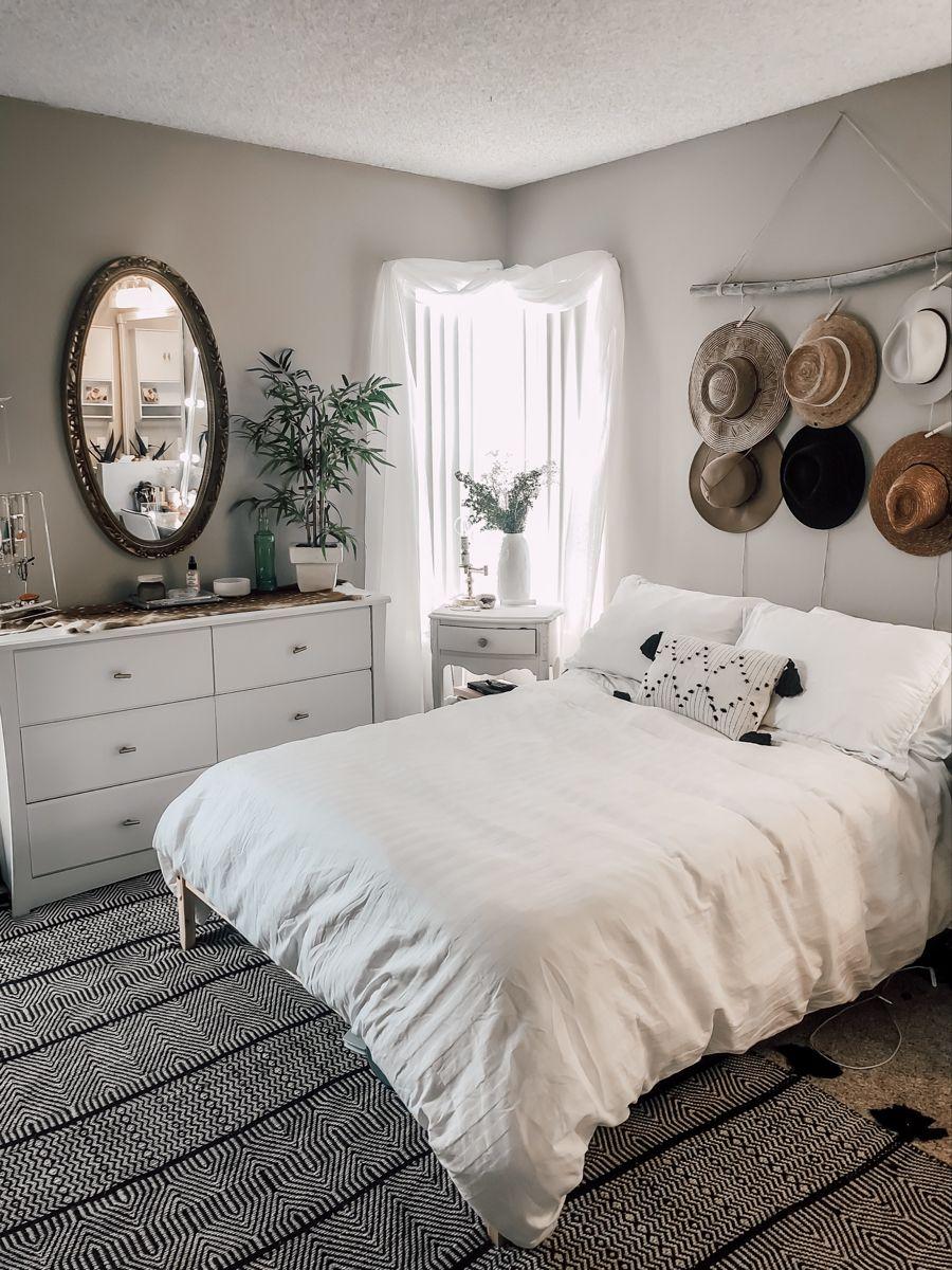 boho bedroom in 2020 | Interior inspo, Diy apartments ...