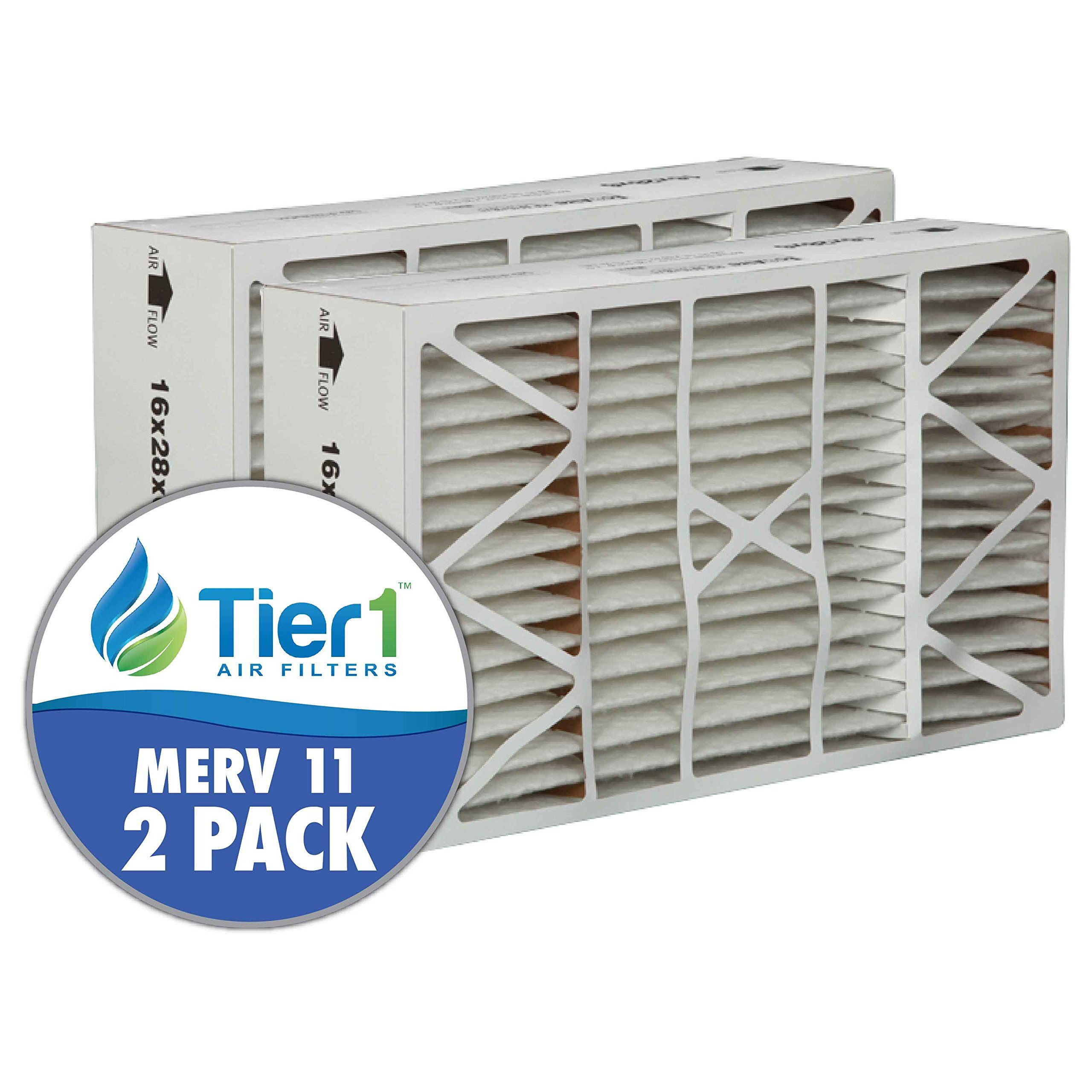 Lennox X5425 16x28x6 MERV 11 Comparable Air Filter 2PK