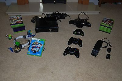 Microsoft Xbox 360 S Kinect & Adventures Bundle 250 GB Glossy Black Console https://t.co/qJysjDdHTj https://t.co/kwMKcT4gUz