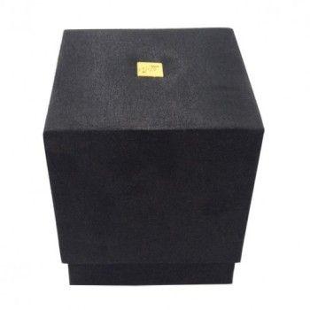 BLACK CYLINDER SILK BOX FOR GIFT, SPA   WEDDING FAVOR