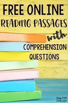 Free Online Reading Comprehension Websites Reading Comprehension