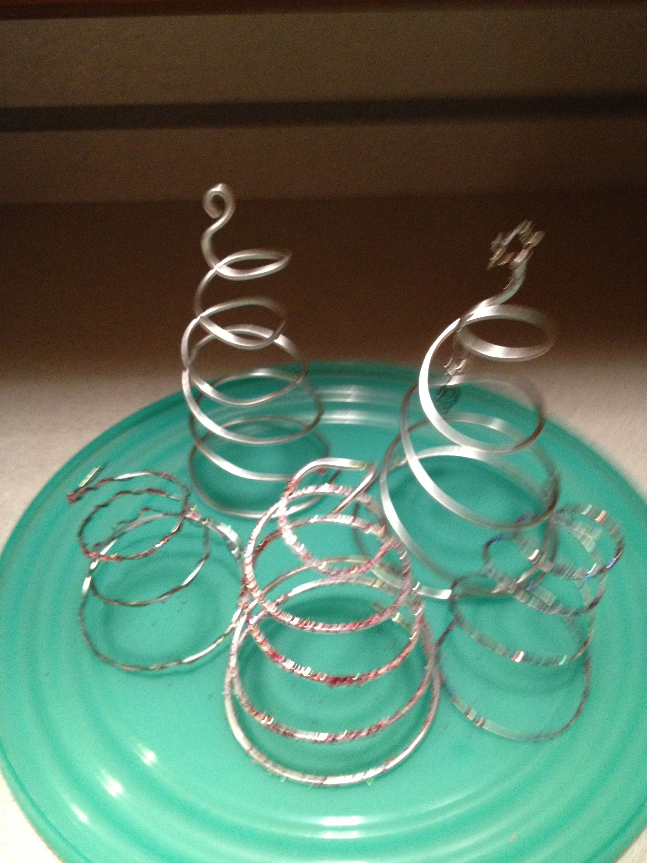 Wire trees- not as simple as I expected, it\'s all about the wire ...